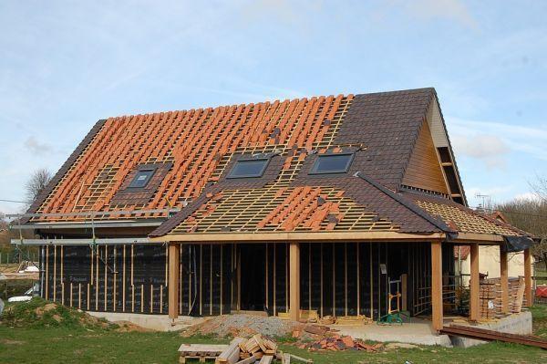 Couverture d'une toiture